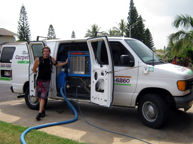 Neil's State of the Art Carpet Cleaning Truckmount Equipment