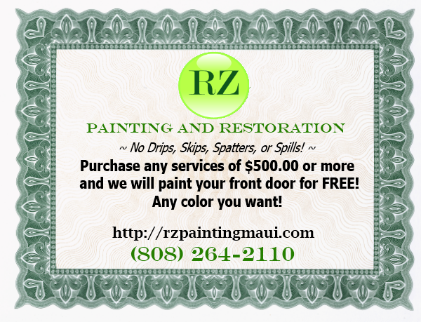 RZ Painting and Restoration Coupon