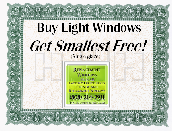 Buy Eight Windows, Get One Free