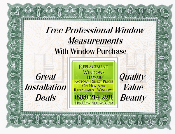 Free professional window measurement with window                 purchase